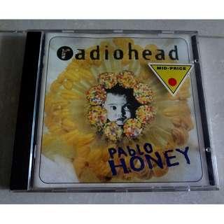 Radiohead CD Pablo Honey