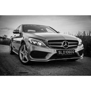 Mercedes-Benz C200 Saloon Auto AMG Line