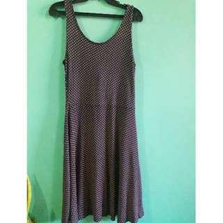 lowback sleeveless dress