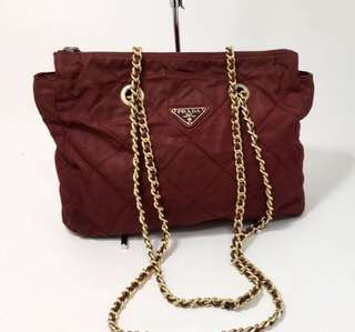 Prada Chain Bag 靚色 美品