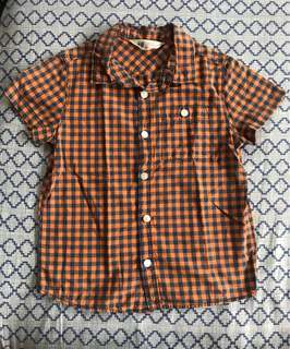 H&M shortsleeves polo for boys