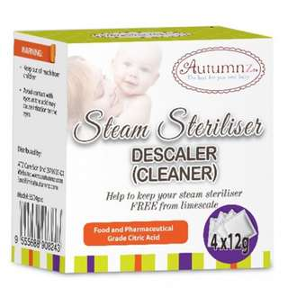 Autumnz - Steam Steriliser Descaler (Cleaner)