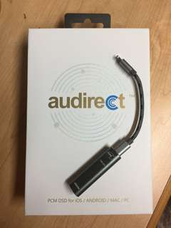 (接近全新)Audirect whistle usb dac 隨身便攜耳擴