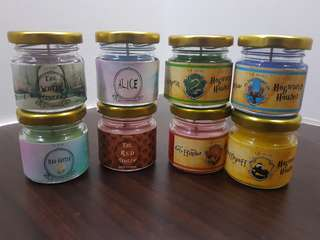 Harry potter themed candle (jual satuan)