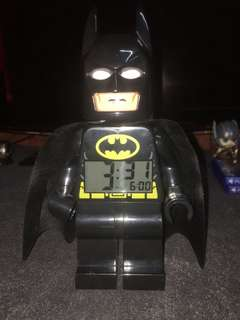 Batman Lego Alarm Clock Original