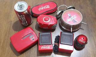 Combo 9 items Coca Cola