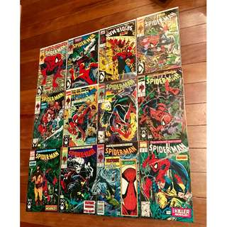 Marvel Comics Spider-Man #1-12 Todd McFarlane Complete Run Super Hot!!!! High Grade NM/NM- Set plus Bonus