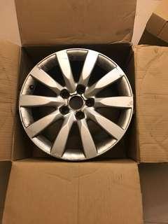 Audi A4 b8原廠鋁圈 17吋