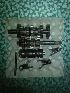 Original Parts Yamaha YZF R15 v1 Gearbox 6 Speed