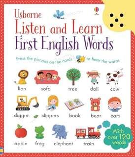 Brand new Usborne first english words