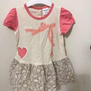 Baby Kiko girl dress (with panties)