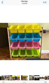 REPRICED!! Toy storage