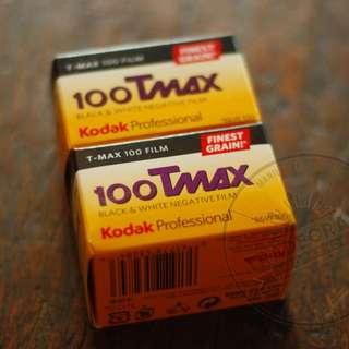 FRESH 35mm Film: KODAK TMAX 100 36 shots