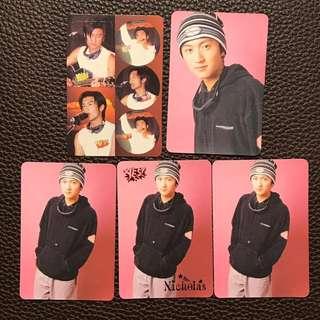 謝霆鋒YES Card 5張