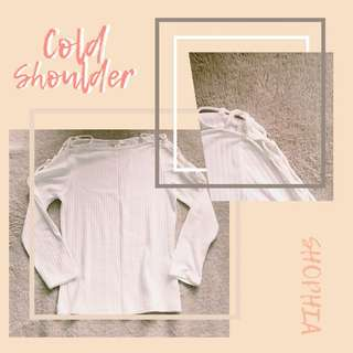 Cold Shoulder - Long Sleeves (F21)