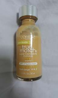 L'Oréal True Match Foundation in W4