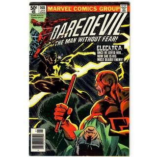 Marvel Comics Daredevil #168 First Appearance of Elektra VF/VF- HOT Copper Age Key