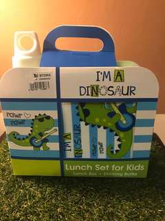 Dinosaur Lunch Set