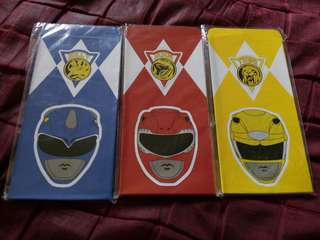 Sampul raya power rangers