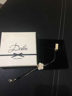 D&g charm bracelet