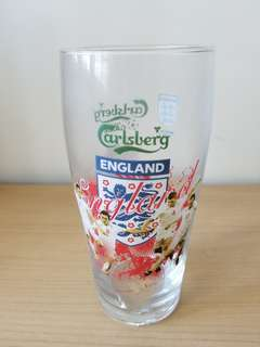 加士百啤酒杯 Carlsberg beer glass
