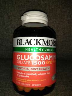 Blackmores Glucosamine Sulfate 1500 - SUPPORTS JOINT HEALTH - Dietary Supplement - 90 Tablets