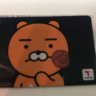 T money card(內有$4000多韓圜)
