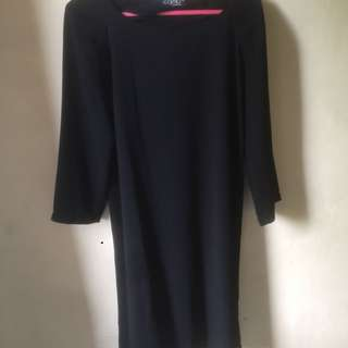 Dress hitam casual or formal