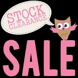 Clearance Sale!