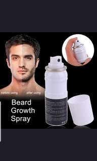 (PO) Men's beard growth spray..(WSH)