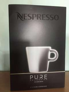 Nespresso Espresso coffee cups