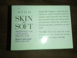 Skin so Soft Whitening Collagen Soap#2