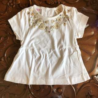 Zara Kids White Blouse