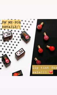 LIP TINT FOR SALE!!!