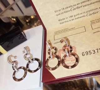Cartier earrings 925