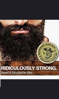 (Po) Moustache  wax for styling..(WSH)