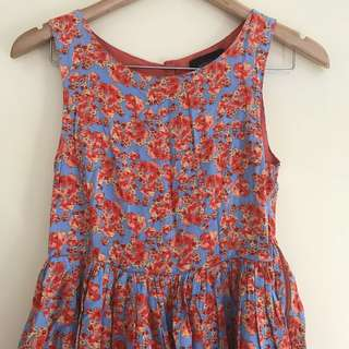 Floral babydoll like dress