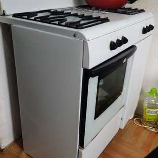Zanussi 4 gas cooker with oven