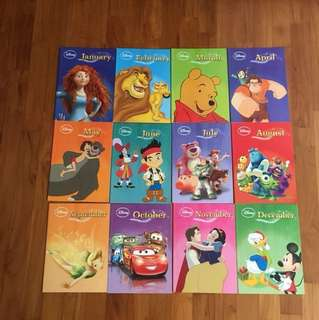 Disney Books - Jan to Dec Stories for everyday