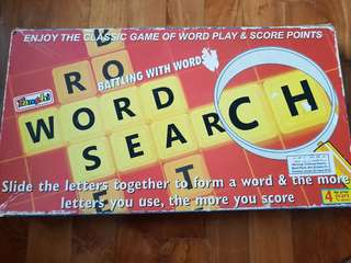 Word search.