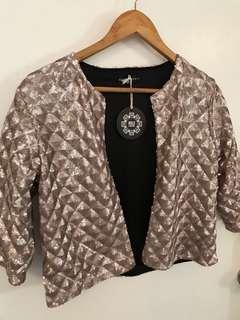 Bold & Bohemia Embellished Sequin Jacket
