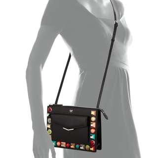 FENDI mini studded crossbody bag (2017)
