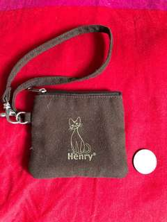 Henry Cats 小拉鍊布袋 small zipper bag