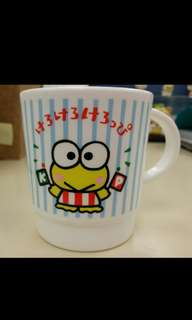 Sanrio Keroppi 青蛙 大眼蛙 膠杯 cup