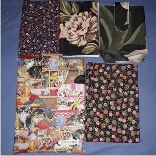 Book Pouches and Covers Set (Free Shipping)