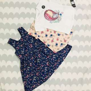 Imported From London Girls Primark Combo Set RM79