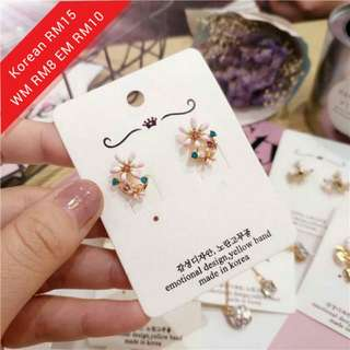 Korea Fashion Earrings