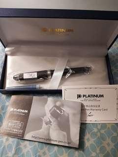 Platinum Century 3776 Black Diamond Rhodium