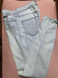 Light-wash Denim Pants