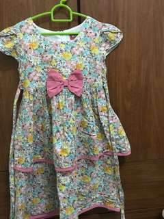 Buy 1 Free 1 Used Girl's Dress( Free Postage)